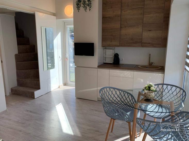 Ferienhaus - Wohnung mit Terrasse zur Miete in Palanga, in Kunigiskiai - 6