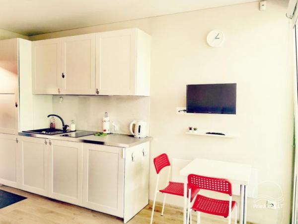 Jaukūs studio tipo apartamentai Jūsų poilsiui