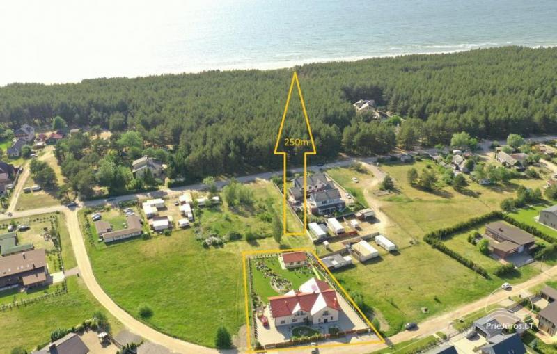 Atostogų sala - atskiro namelio nuoma Jūsų poilsiu. Tik 250 metrų iki jūros!i