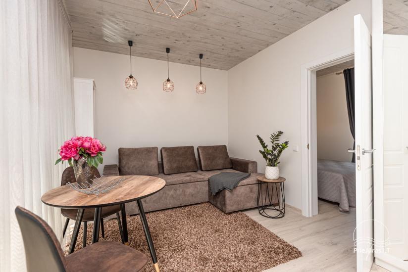 Nauji 2 kambarių apartamentai prie jūros - 6
