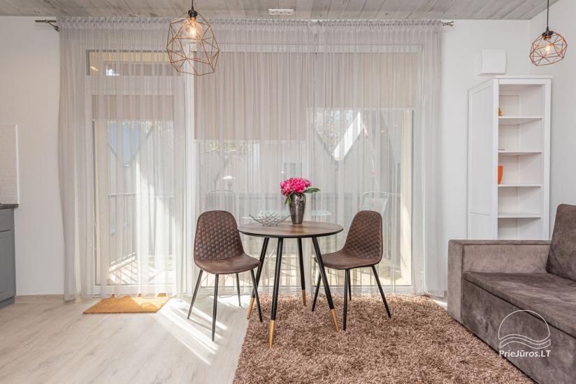 Nauji 2 kambarių apartamentai prie jūros - 3