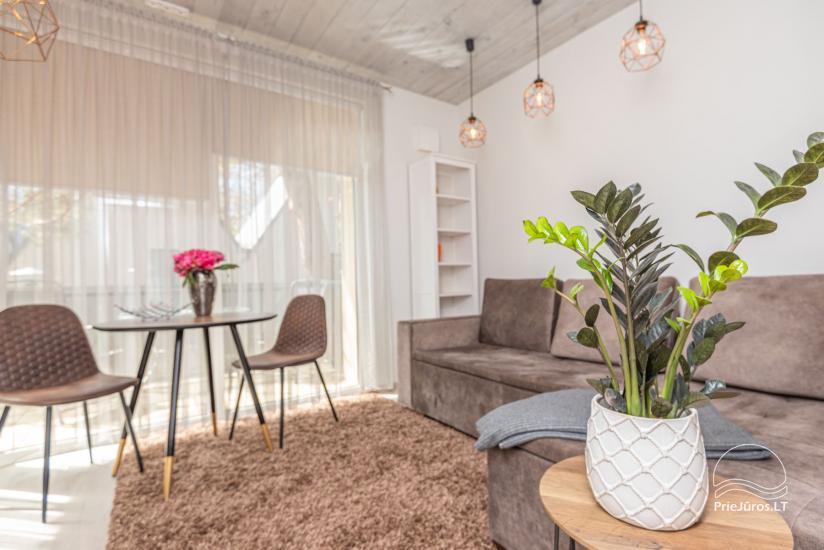 Nauji 2 kambarių apartamentai prie jūros - 2