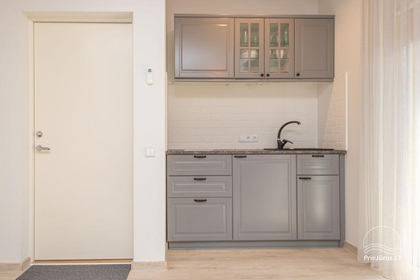 Nauji 2 kambarių apartamentai prie jūros - 4