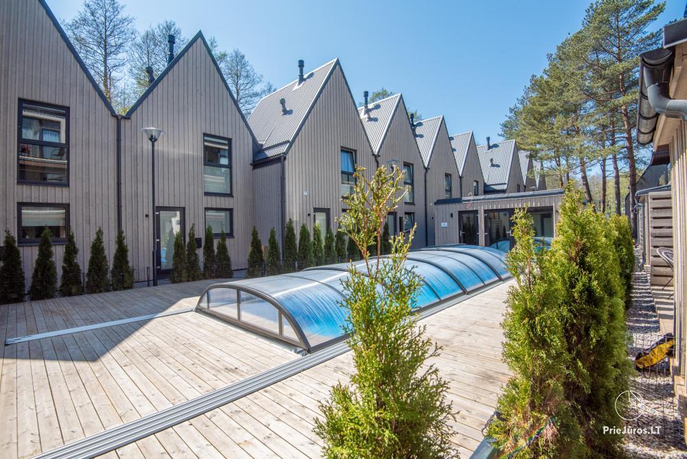 Jauns dzīvoklis ar terasi un apsildāmu baseinu pie jūras - 20