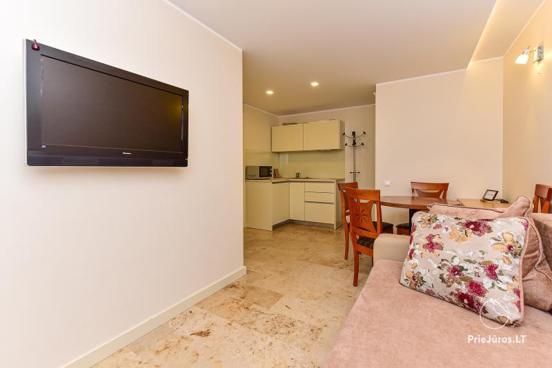 Dviejų šalia esančių apartamentų nuoma NIDA OLD TOWN APARTMENTS