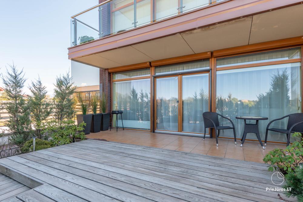 Apartamentų su terasa nuoma Palangoje - 8