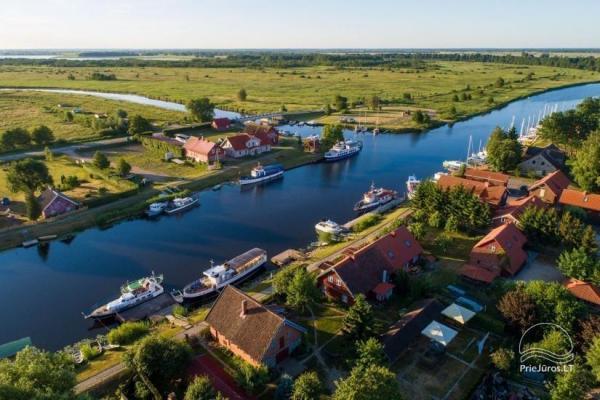 Vila Minė - apgyvendinimas, mini SPA, pirtelė, pasiplaukiojimas kateriu, žvejyba