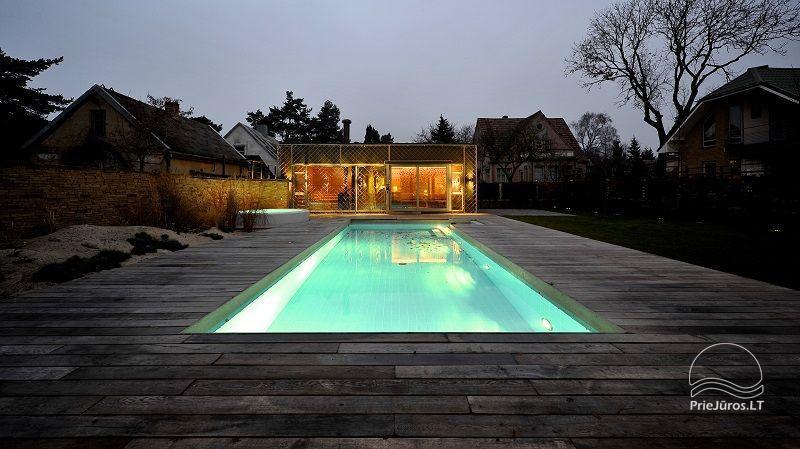 Prabangi Vila Belvilis - šildomas baseinas, sukūrinė vonia, pirtis, gultai. Iki jūros tik 300 metrų! - 8