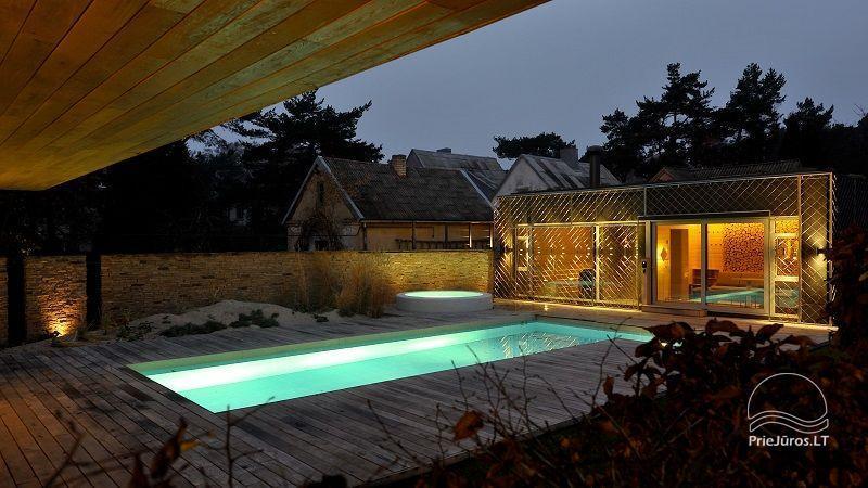 Prabangi Vila Belvilis - šildomas baseinas, sukūrinė vonia, pirtis, gultai. Iki jūros tik 300 metrų! - 9
