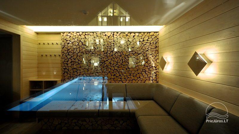 Prabangi Vila Belvilis - šildomas baseinas, sukūrinė vonia, pirtis, gultai. Iki jūros tik 300 metrų! - 10
