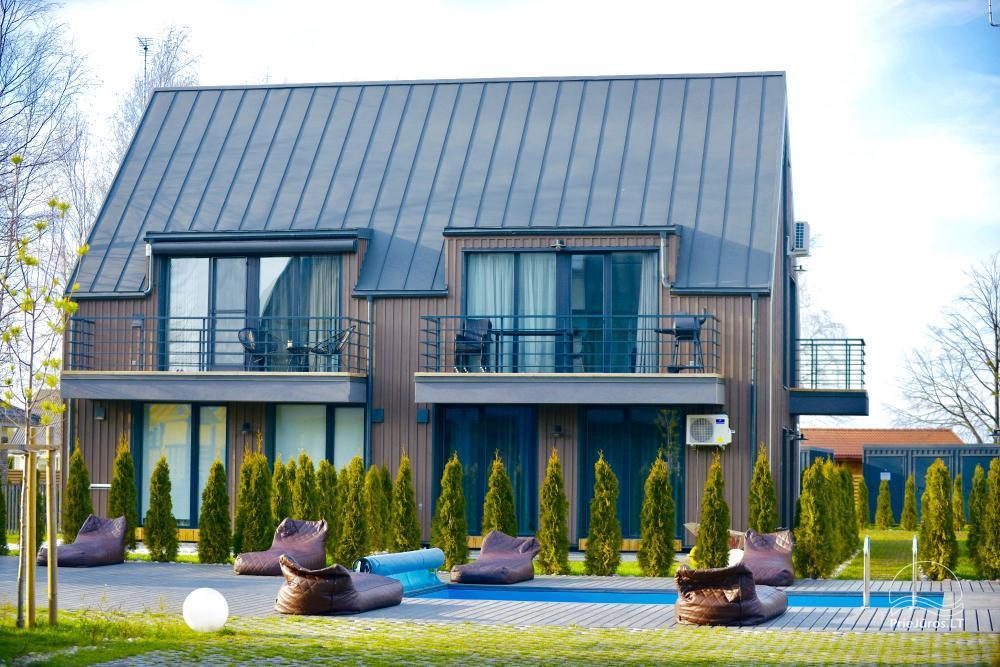 Saulėlydžio apartamentai su šildomu lauko baseinu Kunigiškiuose, Vaivorykštės 9D ir 7C - 2