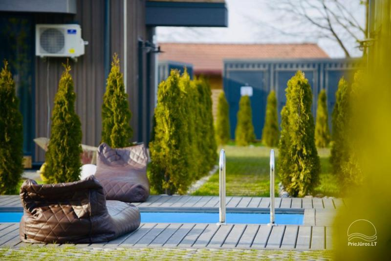Saulėlydžio apartamentai su šildomu lauko baseinu Kunigiškiuose, Vaivorykštės 9D ir 7C