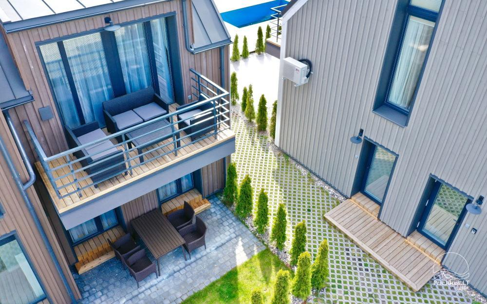 New apartment with heated outdoor pool for rent in Kunigiskiai - 4