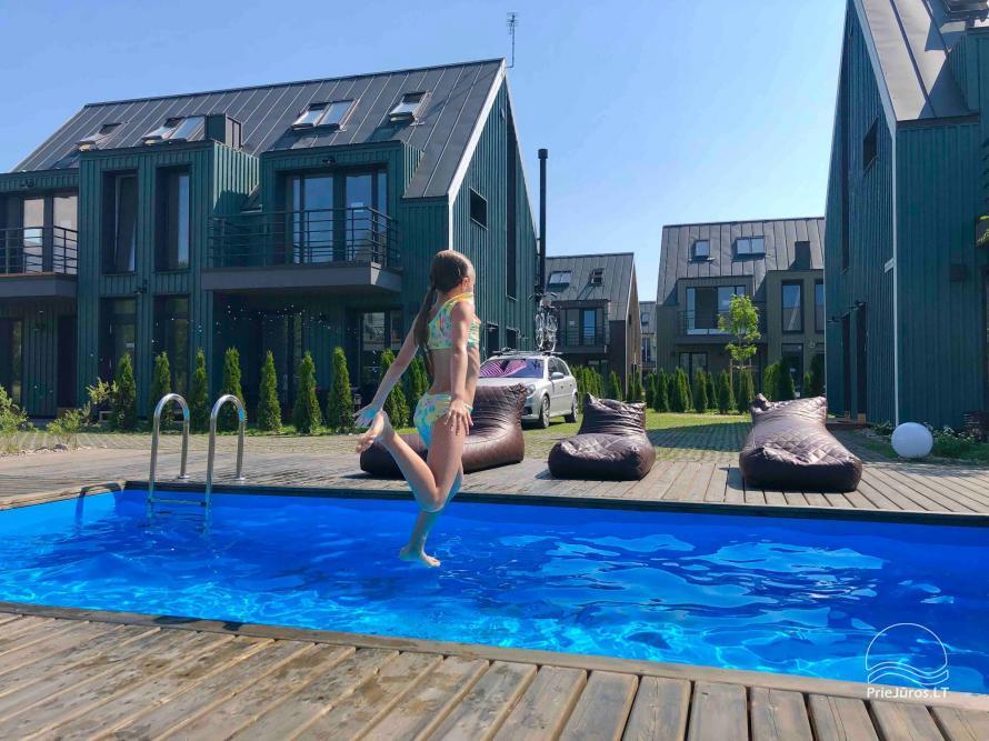 Saulėlydžio apartamentai su šildomu lauko baseinu Kunigiškiuose, Vaivorykštės 9D ir 7C - 5