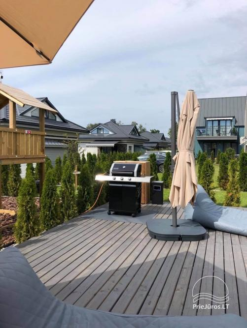 New apartment with heated outdoor pool for rent in Kunigiskiai - 7
