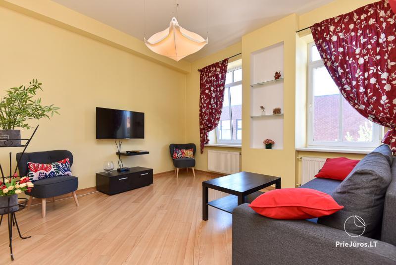 Jaukus dviejų kambarių butas Klaipėdos centre
