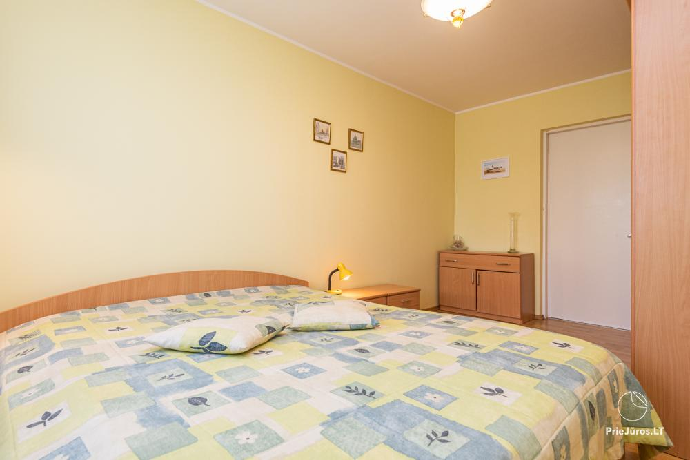 Three rooms flat for rent in Palanga. Up to 8 persons - 5