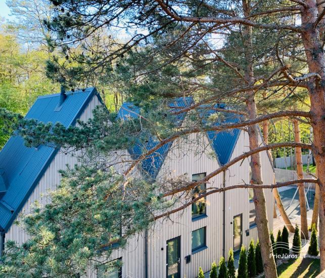 Kontininkų apartamentai su baseinu miško pašonėje, Kunigiškiuose - 1