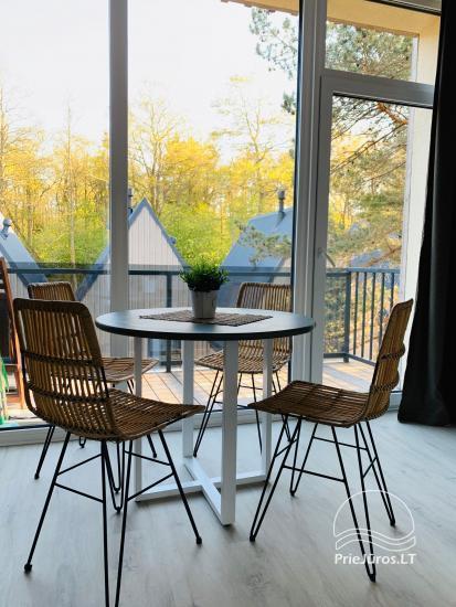 Kontininkų apartamentai su baseinu miško pašonėje, Kunigiškiuose - 3