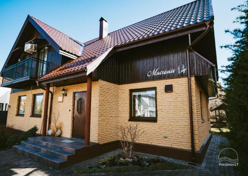 Cosy rooms and studio apartment for rent in Palanga