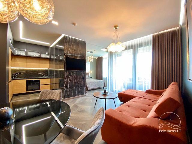 Nauji apartamentai komfortiškam poilsiui Palangoje