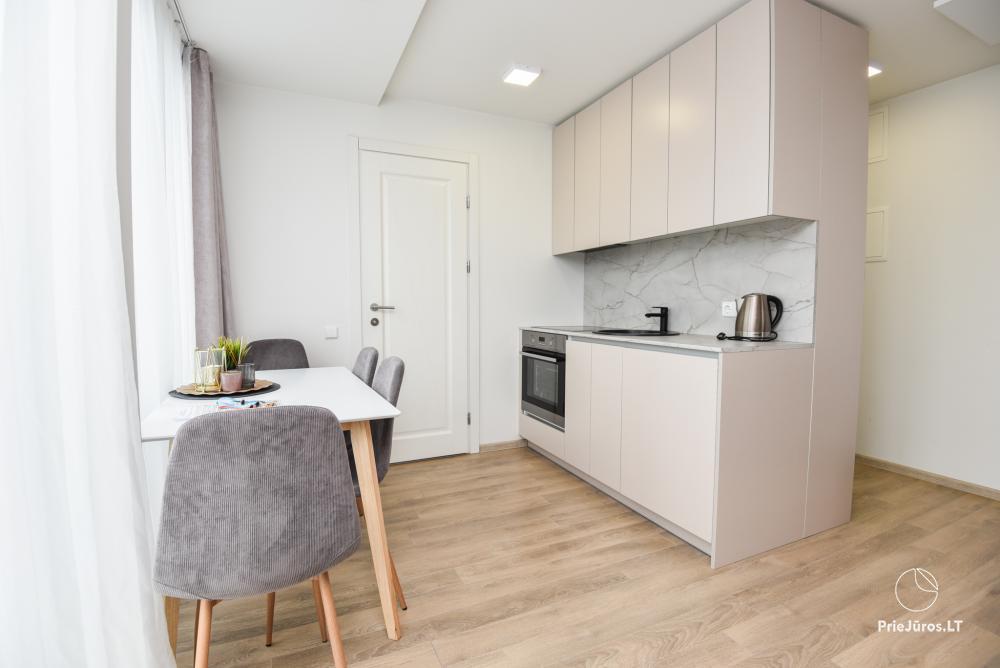 Apartment for rent in Kunigiskiai Vaivorykstes house. To the sea 600 m. - 5