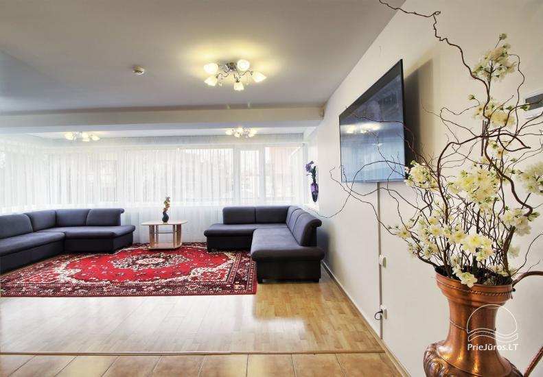 SMILČIŲ apartamentai PALANGOS CENTRE (iki  6 asmenų)