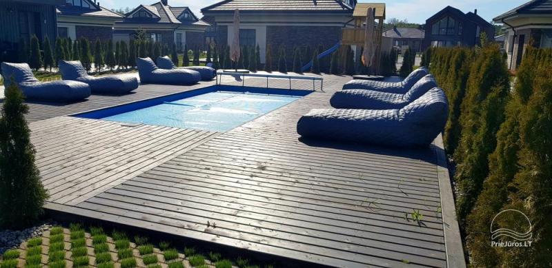 Art nuoma Palangoje - jaukūs apartamentai su baseinu ir gultais Jūsų vasaros poilsiui