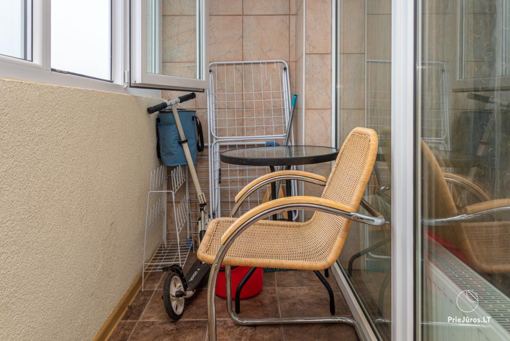 Erdvių, jaukių apartamentų nuoma Palangoje - 15