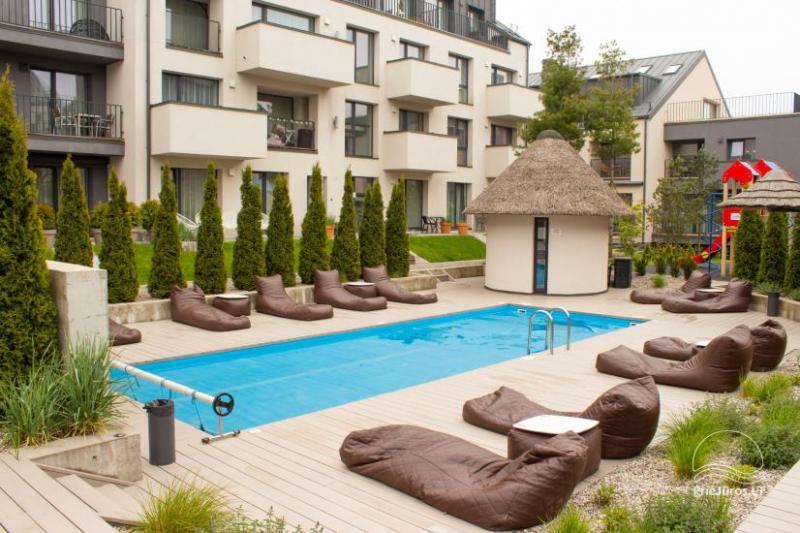 Gemütliche Apartments für den Sommerurlaub in Palanga