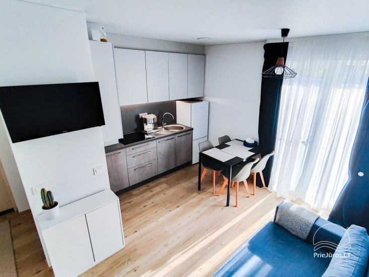 Apartamentai Palangoje, Užkanavės g. 37A-1 - 3
