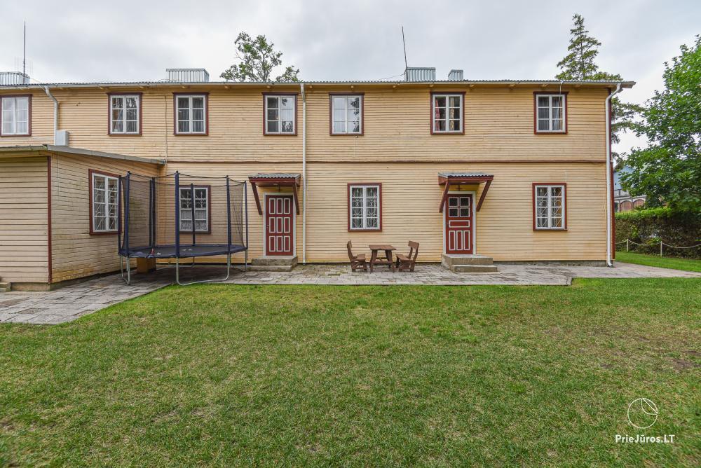 Cheap rental in Palanga, in J. Basanaviciaus street - 42