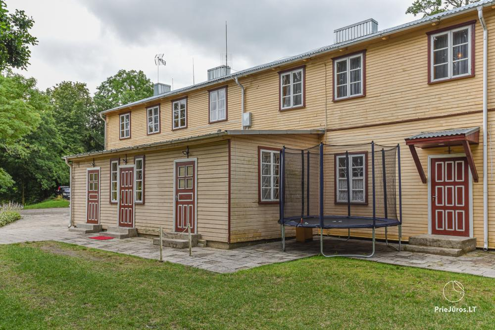 Cheap rental in Palanga, in J. Basanaviciaus street - 45