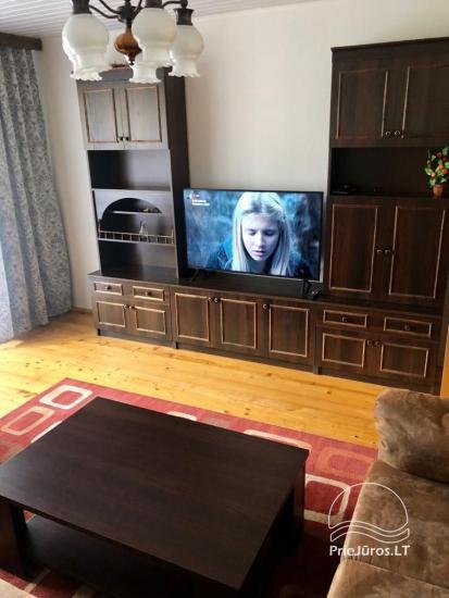 Trumpalaikė trijų kambarių buto nuoma Šventojoje - 3