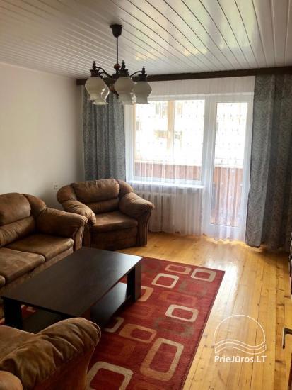 Trumpalaikė trijų kambarių buto nuoma Šventojoje - 2