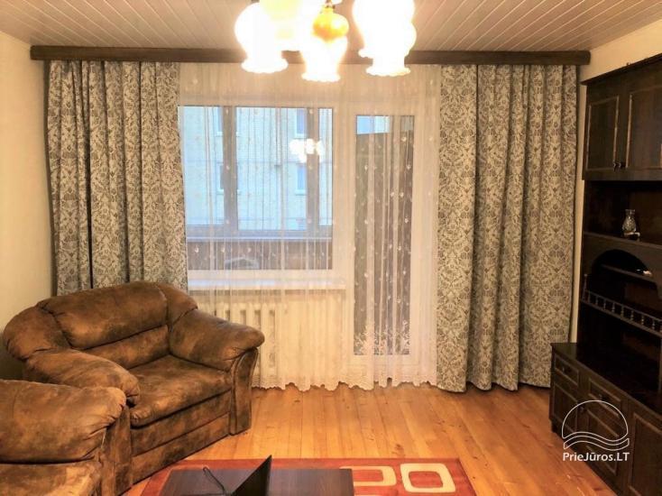 Trumpalaikė trijų kambarių buto nuoma Šventojoje - 1