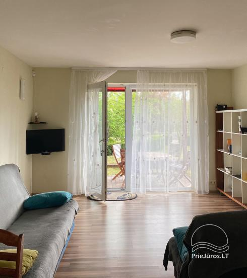 Studio apartment for rent in Pervalka, in Curonian Spit