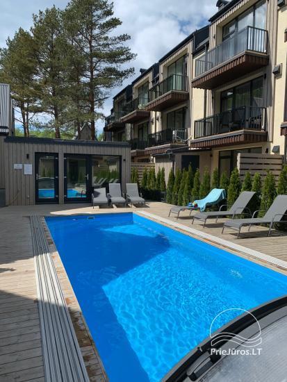 Geriausios atostogos - kotedžų su šildomu baseinu nuoma Kunigiškėse