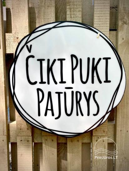 Villa Una - new 3-storey cottages in complex Ciki puki pajurys - 14