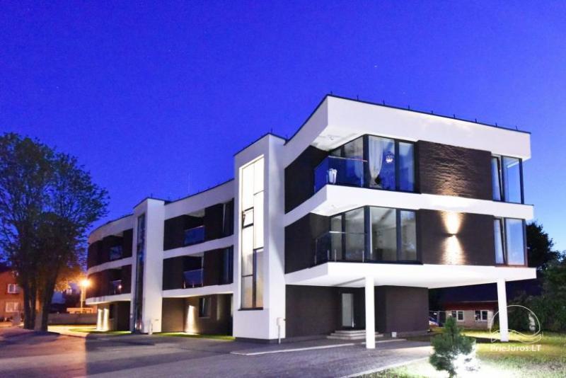 Nauji apartamentai Palangoje, šalia kurorto centro