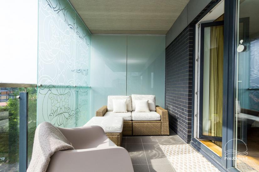 Vasaros namai - naujai įrengti apartamentai su terasa Jūsų poilsiui - 7