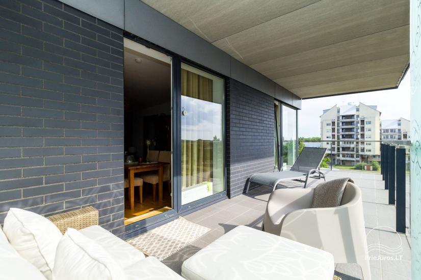 Vasaros namai - naujai įrengti apartamentai su terasa Jūsų poilsiui - 8