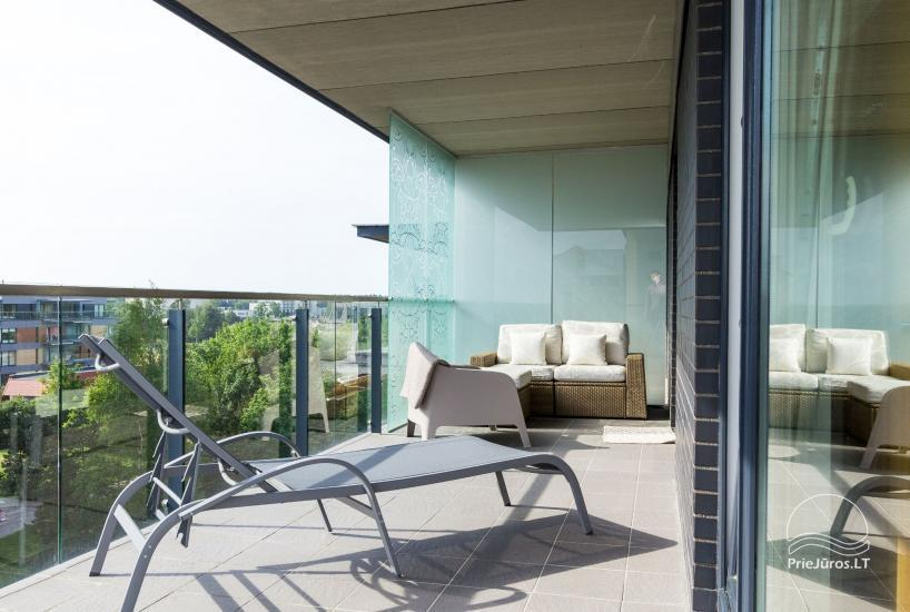 Vasaros namai - naujai įrengti apartamentai su terasa Jūsų poilsiui - 6