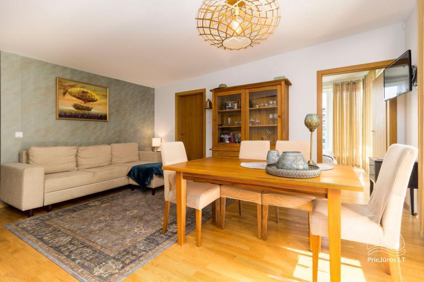Vasaros namai - naujai įrengti apartamentai su terasa Jūsų poilsiui - 2