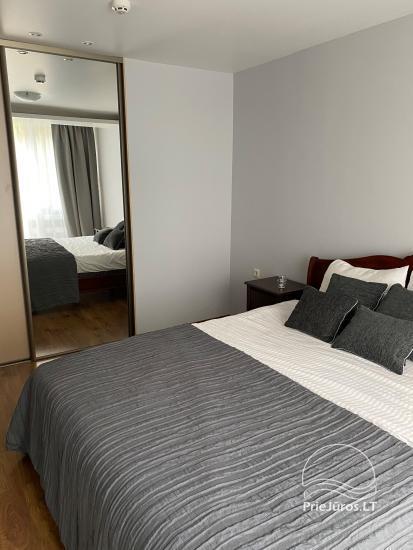 Dviejų kambarių apartamentai pačiame Nidos centre