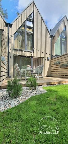 New cottage with heated pool for rent in Palanga (4 rooms) - 1