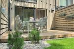 Neues Ferienhaus mit beheiztem Pool zur Miete in Palanga (4 Zimmer)