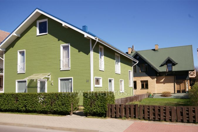 Kambarių, apartamentų nuoma Palangoje, 200 m.iki jūros - 1