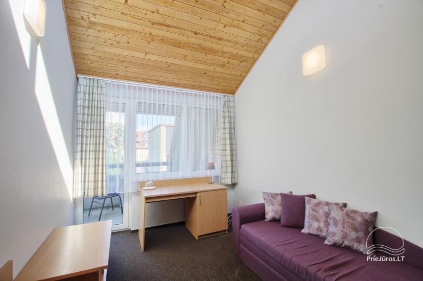 Entspannungskomplex Kastytis in Nida, Kurische Nehrung, in Litauen - 2