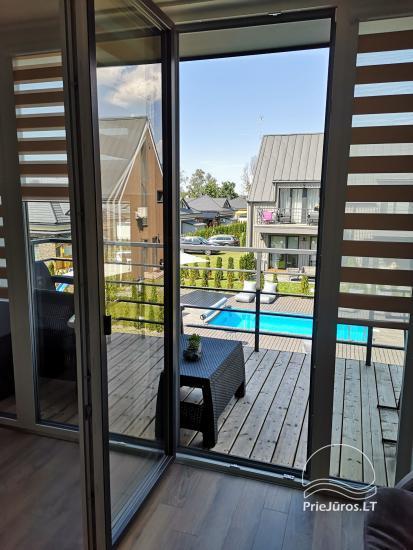 Apartamentų Mėta su šildomu baseinu nuoma Vaivorykštės atostogų komplekse - 4